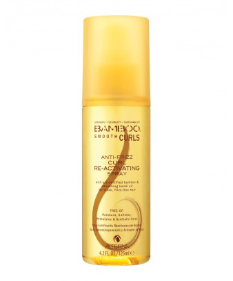 Bamboo Smooth Curls Anti-Frizz Re-Activating Spray 125ml