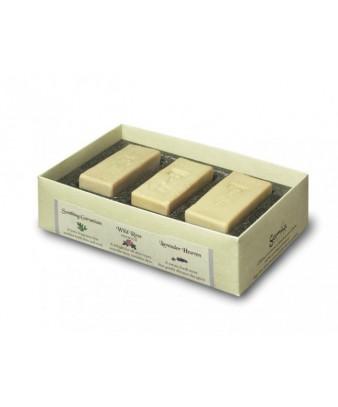 Gamila Trio Mini Soap - Geranium/Spearmint/Lavander 3x30gr